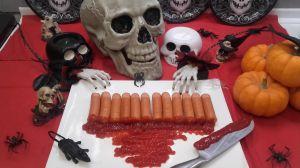 Recette Doigts ensanglantés d'Halloween !
