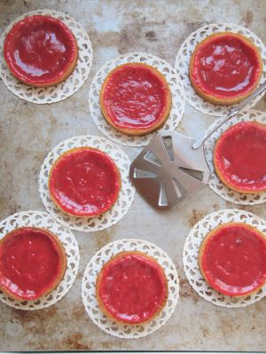 Recette Tartelettes aux pralines