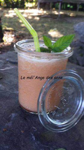 Recette Soupe de melon à la menthe
