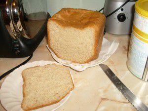 Recette Premier pain: pain blanc basic