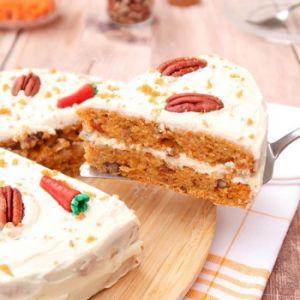 Recette Carrot cake {vegan}