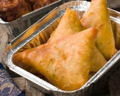 Recette Samoussas au poulet et au curry