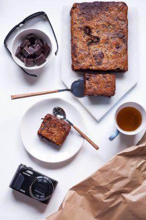 Recette Battle food 40 – Brownie au chocolat et aux haricots noirs