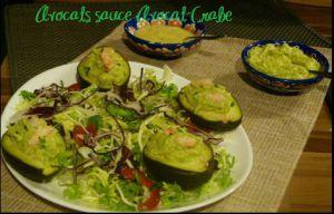 Recette Avocats sauce Avocat - Crevettes