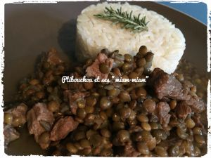Recette Sauté de porc aux lentilles - Cookéo