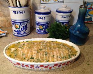 Recette Tarte d'anchois aux zeste d'agrumes