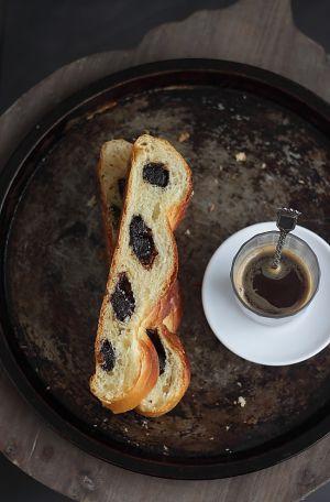 Recette Brioche 4 brins à la pâte d'amande