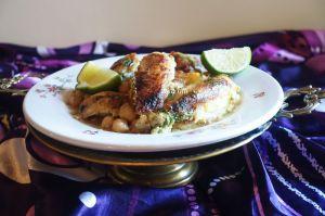 Recette Khdawedj ala derbouz-tajine el casbah- plat de viande algérois