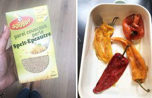Recette Salade de couscous perlé et halloumi | Une recette végétarienne