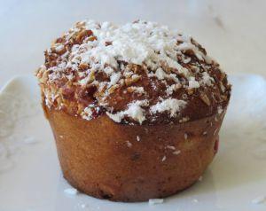 Recette Muffins aux fruits rouges et à la noix de coco sans gluten ni lactose