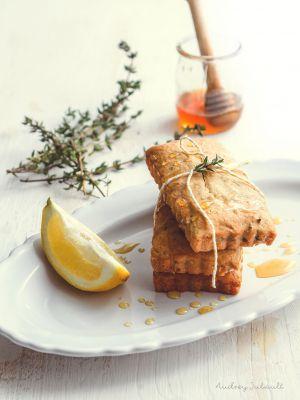 Recette Financiers au citron, miel et thym