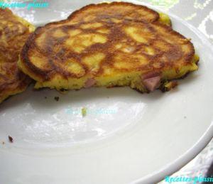 Recette Pancakes au jambon