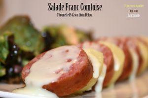 Recette Salade Franc Comtoise - Princesse Amandine®