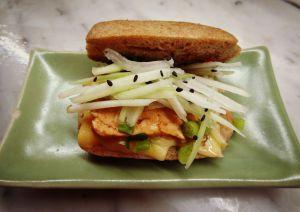 Recette Mini cheese-tofu-burger