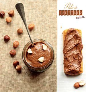 Recette Pâte à tartiner aux noisettes {Nutella® maison}