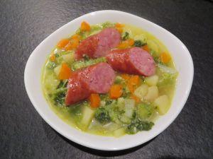Recette Soupe aux choux