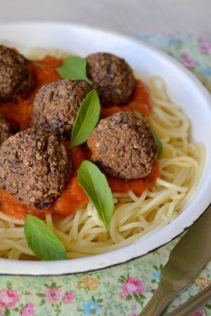 Recette Boulettes végétales aux haricots noirs {no-meat balls}