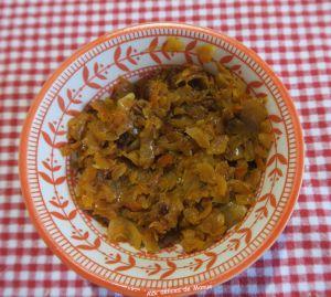Recette Confit d'oignon aux tomates séchées