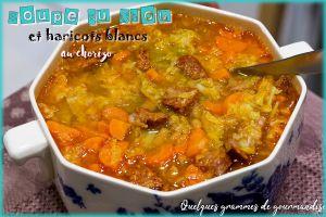 Recette Soupe au chou et haricots blancs