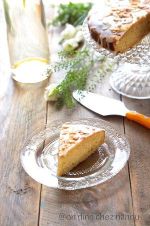 Recette Gâteau citron/amandes de Jamie Oliver