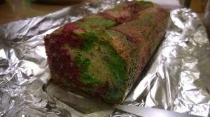Recette Cake psychédélique(cake de sophie)
