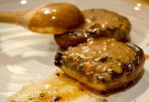 Recette Portobello sauce au poivre