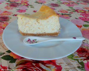 Recette Cheesecake à la ricotta (Ricotta cheesecake)