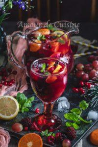 Recette Sangria sans alcool mocktail facile
