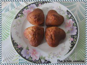 Recette Muffins au sirop d'érable et aux noix (sans oeufs)
