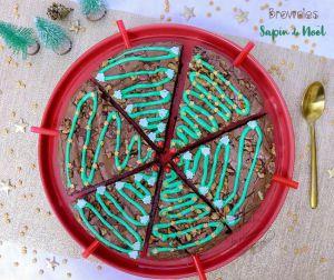 Recette Brownies sapins de Noël faciles