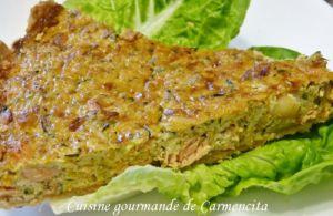 Recette Quiche saumon gambas et légumes