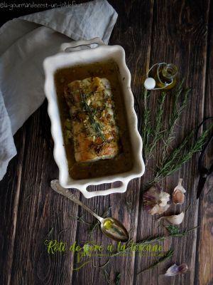 Recette Rôti de porc à la toscane