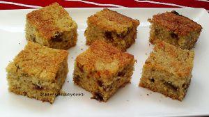 Recette Harcha aux dattes, amandes et miel