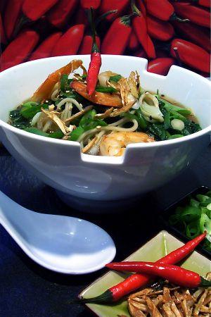 Recette Soupe de Singapour
