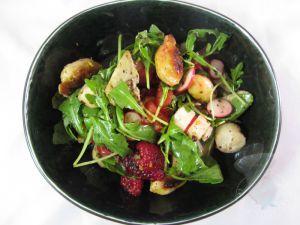 Recette Salade en rouge et vert