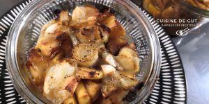 Recette Pommes endives caramélisées Balsamique en Tartiflette