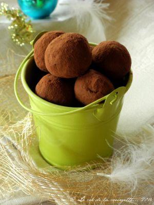 Recette Truffes au chocolat et aux dattes