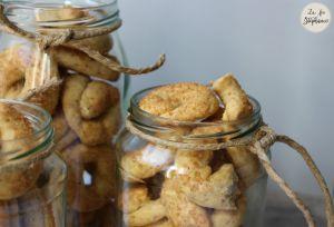 """Recette """"Taralli dolci pugliesi"""", petits biscuits sucrés des Pouilles - sans oeuf"""