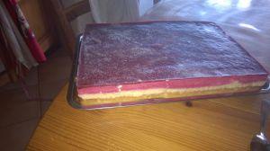 Recette Entremet mangue,fruits rouges