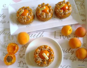 Recette Entremets abricots et praliné