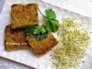 Recette Croquettes de quinoa au curry vegan