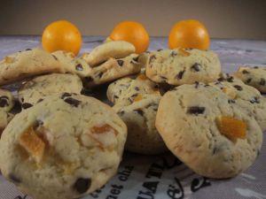 Recette Cookies chocolat orange