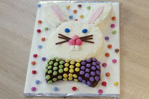 Recette Ce matin, un lapin… – Gâteau tête de lapin