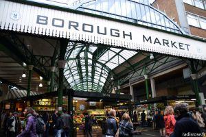 Recette Samedi matin à Borough Market à Londres