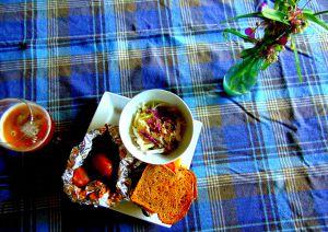 Recette Petites pommes de terre épicées en papillotes