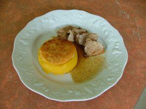 Recette Filet mignon de porc sauce au thym