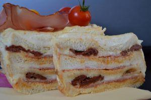 Recette Croque cake géant à l'italienne