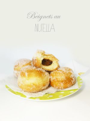 Recette Beignets au Nutella