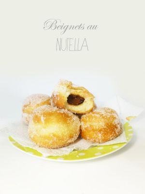 Recette Beignets au Nutella