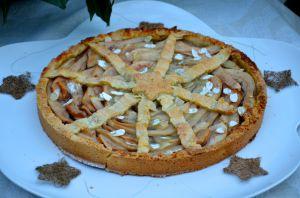 Recette Tarte aux poires et marrons